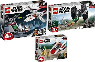 LEGO STAR WARS 75247 75235 75237 TIE Fighter™ Attack X-Wing Starfigh N1/19