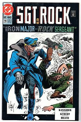 Sgt. Rock Special #16, Near Mint Minus Condition'