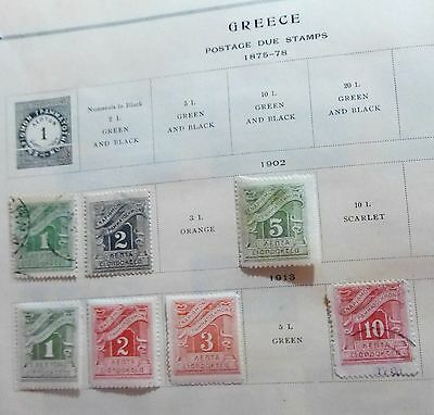 Greece  Old Stamps Set from 1875
