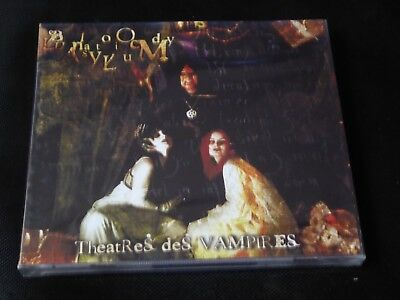 Theatres des Vampires - Bloody Lunatic Asylum RUSSIAN IMPORT SEALED NEW CD 2003
