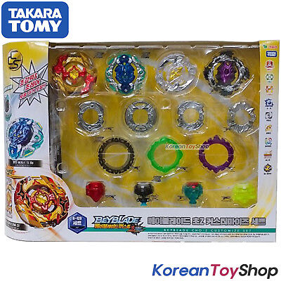 Beyblade Burst B-128 Cho-Z Customize Set Takara Tomy Original Authentic Package