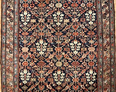 Magnificent Malayer - 1920s Antique Persian Runner - Gallery Rug 5.2 x 11.4 ft.