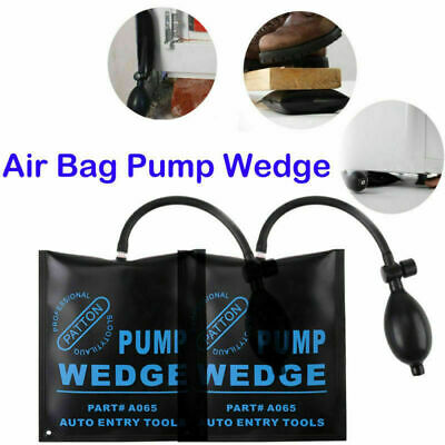 2pcs Air Pump Wedge Pad Airbag Door Window Lock Open Kit Car Accessories MA1852