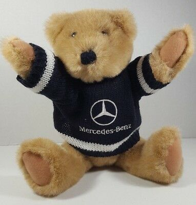Ganz 1994 Mercedes Benz bear plush movable arms and legs vintage 94