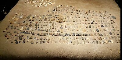 Arrowhead Collection Points. Indian, Native American Artifacts