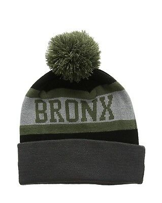New Era Men's Bronx Bobble Beanie Hat