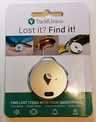 Tracking Device TrackR Bravo Lost it Find it BlueTooth Free Overseas Shipping