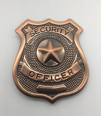 NEW Security Officer Metal Badge LIMITED STOCK REMAINING