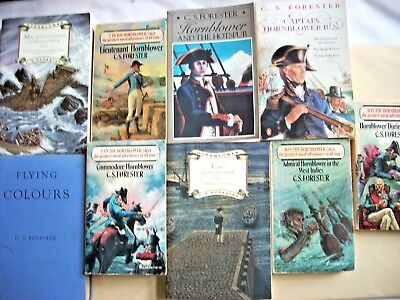C. S. Forester--HORATIO HORNBLOWER Complete Set of 11 Books