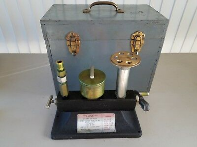 Vintage Amthor Mod. 460 Tester, Dead Weight Gage 0-3000 PSI, USA