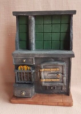 A RESIN  SCULLERY / KITCHEN RANGE 12th scale