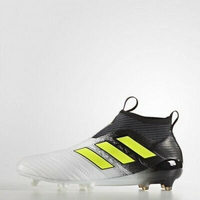 best service 5e3ac 84a64 New Mens Adidas Ace 17+ Purecontrol Fg Soccer Shoes Cleats S77164-Size 8