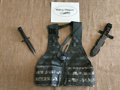 LAN-CAY M9Bayonet Fighting Knife - Molle Tactical Vest - Combination Pack!!