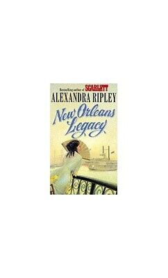 New Orleans Legacy by Ripley, Alexandra Paperback Book The Cheap Fast Free Post