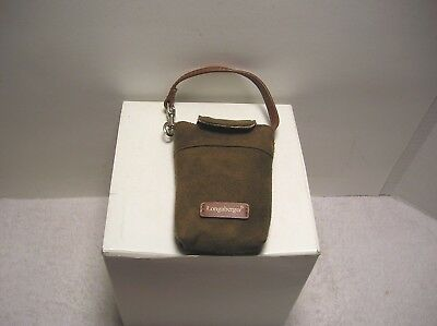 Longaberger Cigarette Case/Tote