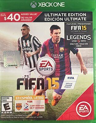 Fifa 15 Ultimate Edition - Xbox One - Region Free USA Version in... - Game  HKVG