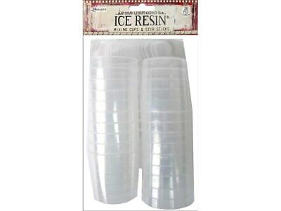 Ranger ICE Resin - Mixing Cups & Sticks - 20pc