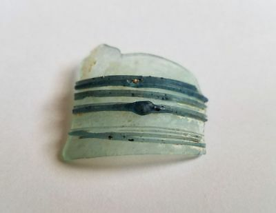 Genuine Ancient Roman Glass Fragment for Crafts Art Pendant Jewelry • Israel # 2