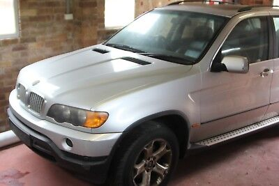 2003 BMW X5 E53 4.4i Silver - Good for wrecking