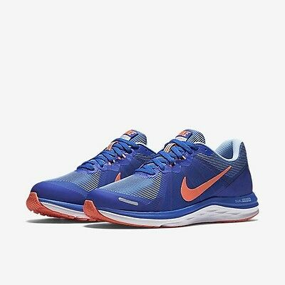 Nike Womens Dual Fusion X2 Trainers, Sneakers. Uk 7 EUR 41. Blue, NEW.