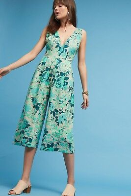 536ccced10a NWT  328 ANTHROPOLOGIE AUGUST V-NECK JUMPSUIT by HARARE L -  85.49 ...
