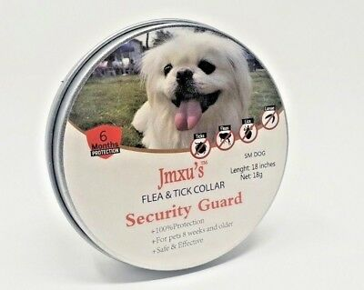 All Natural Flea Collar For Small Dogs, Flea & Tick Protection For Up to 6 Month