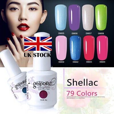 GEL LAB 15ML UV LED Gel Polish Varnish Lacquer No Wipe Top Base Coat UK STOCK