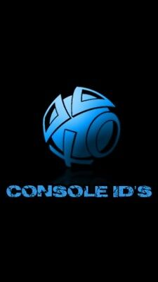 Console Id Ps3 Cid/psid Cex/dex