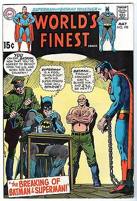 World's Finest #193 Featuring Superman, Batman & Robin, Very Fine Condition