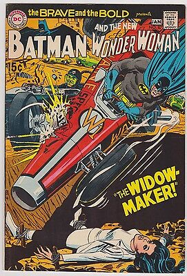 Brave and Bold #87 Featuring Batman & Wonder Woman, Very Fine - Near Mint Cond