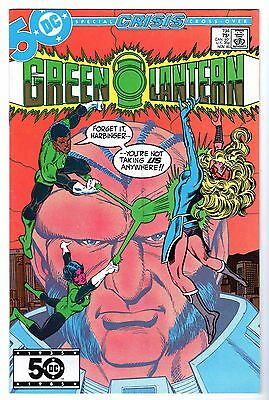 Green Lantern #194 - Hal Jordan & Guy Gardner Battle, Near Mint Minus Condition