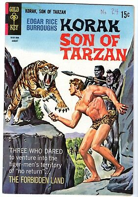 Korak Son of Tarzan #24, Very Fine - Near Mint Condition