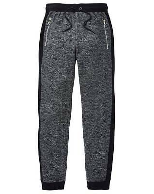 DISSIDENT MENS JOGPANTS TRACKSUIT FLECKED BOTTOMS CUFFED JOGGER 1F7296 BARNFIELD