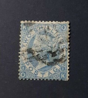 Gb Stamps Queen Victoria Sg 118 2S Dull Blue Used