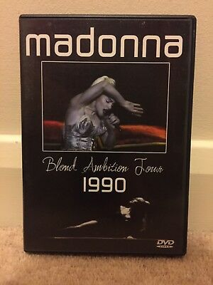 MADONNA - Blond Ambition World Tour 1990 DVD* Rare*
