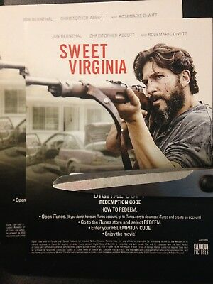 Sweet Virginia (Digital Code Only) Canada redemption only!