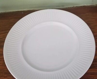 """Johnson Brothers Athena White Dinner Plates 10"""" ironstone made in England"""