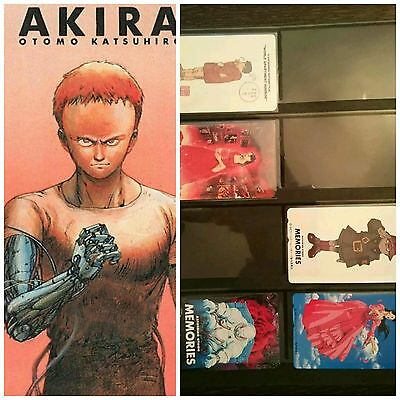 6 phone cards Katsuhiro Otomo memories world apartment horror rose akira domu