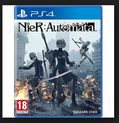 Nier Automata anime manga PS4 Game NEW SEALED - UK PAL for Sony Playstation 4