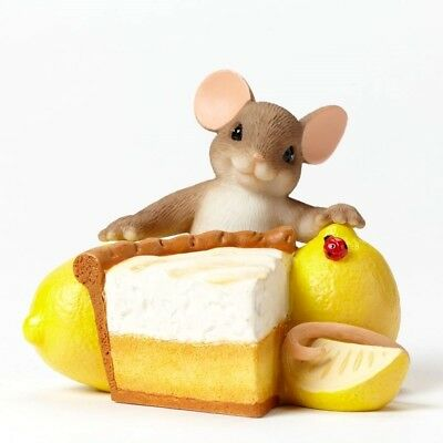 Lemon Me Tell You How Sweet You Are  CHARMING TAILS Mouse Figurine #4034328
