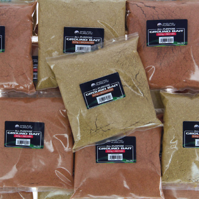Wholesale Job Lot 500g Coarse Fishing Ground Bait x10 in Brown,Red or Mixed