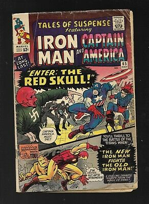 Tales of Suspense 65 first Silver Age Red Skull