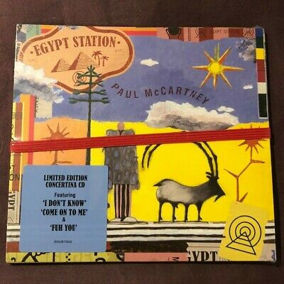 Paul McCartney LIMITED EDITION Egypt Station CD (BRAND NEW 2018)