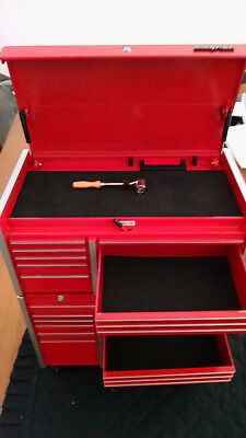 Snap-on Die Cast Replica Tool Box Chest Rollaway 1:8 Scale Collectible Bank