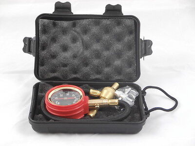 Tyre Deflator Rapid 4WD 4X4 with Pressure Gauge PLUS Valve Tool
