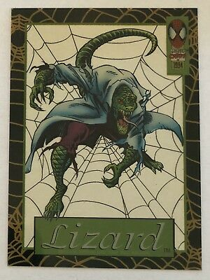 1994 Marvel Cards Limited Edition Subset Suspended Animation LIZARD 12 of 12