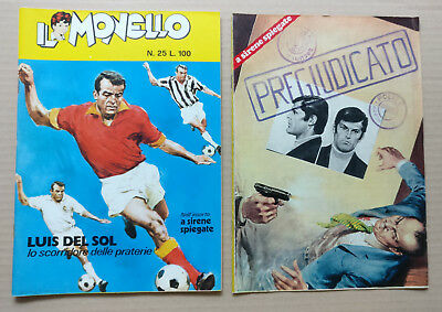 IL MONELLO - N°25 del 22-06-1972 con SUPPLEMENTO -LUIS DEL SOL in cover