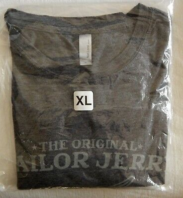 THE ORIGINAL SAILOR JERRY SPICED RUM Flying Skull & Dice Promotional XL T-Shirt