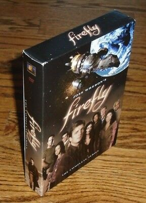 Firefly: The Complete Series (DVD, 2009, 4-Disc Box Set) Joss Whedon