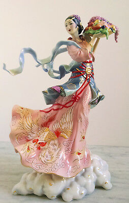 """Maku - Goddess of Eternal Youth"" limited ed. Chinese figurine by Caroline Young"